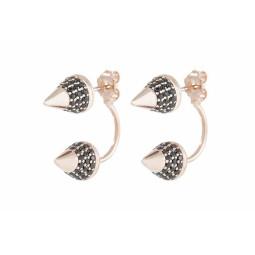 ARROWHEAD EARRINGS με Ζιργκόν