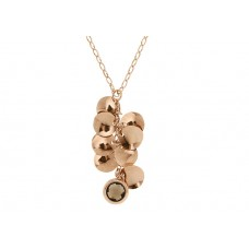 CHARM NECKLACE WITH FACETED STONE