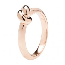 Polished Knotted Ring
